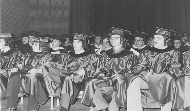 The class of 1972 was the first to graduate from Westmoreland.