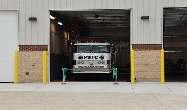 A new apparatus bay was added to the PSTC in 2018.