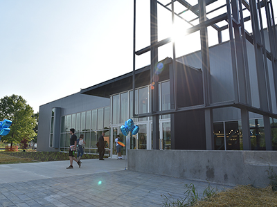 The new Student Achievement Center on the Youngwood campus