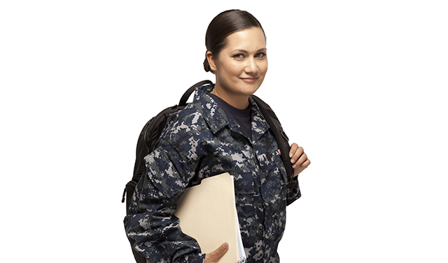 Female military student